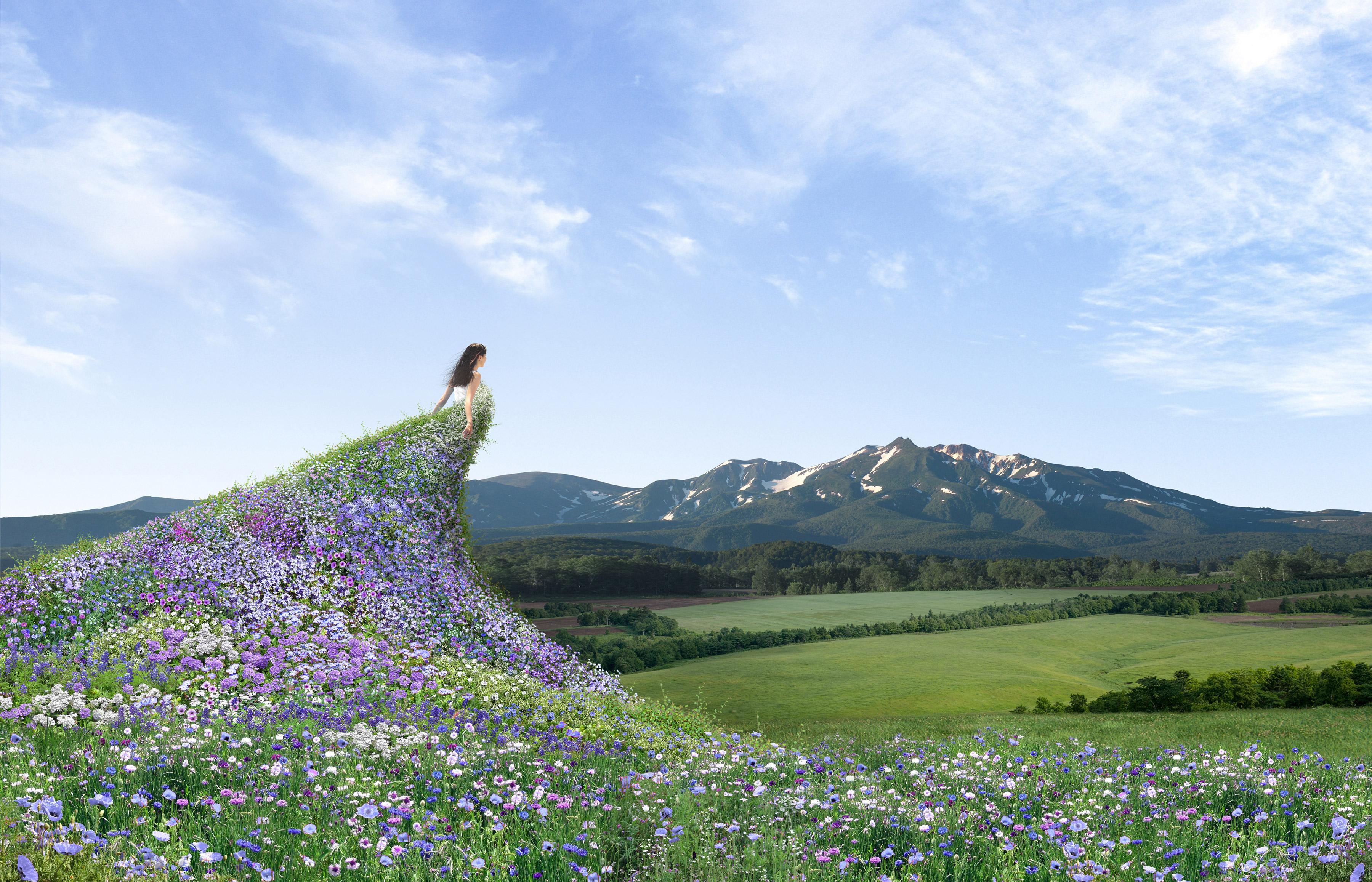 花のジャンプ台イメージx